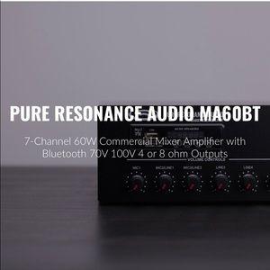 Pure Resonance Audio MA60BT Mixer Amplifier